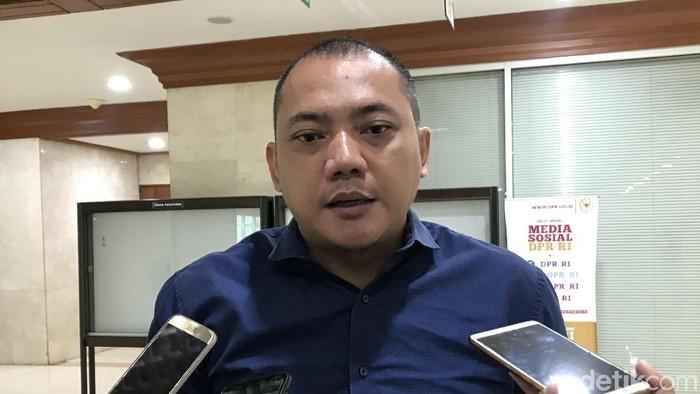 Anggota DPR dari Fraksi NasDem, Taufik Basari (Rolando/detikcom)
