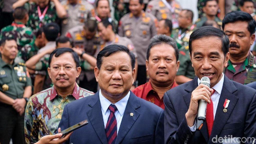 Jokowi-Prabowo Bahas Alutsista di Surabaya Pekan Depan
