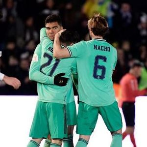 Hasil Copa del Rey: Real Madrid Lolos Usai Taklukkan Unionistas 3-1