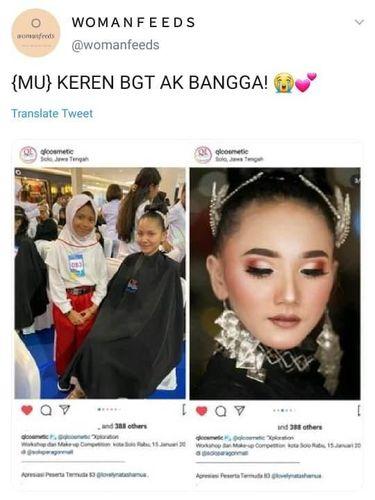 Kisah Makeup Artist Cilik dari Magelang yang Viral