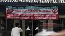 Viral Spanduk Tolak Mandikan Jasad Pendukung Gereja di Tangsel, Ini Faktanya