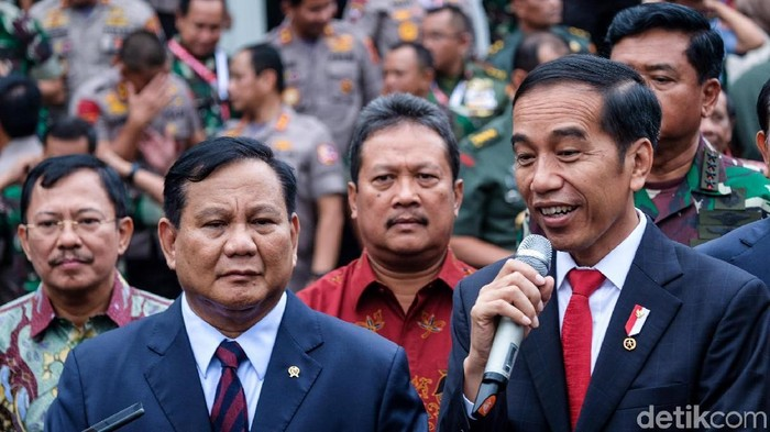 Jokowi dan Prabowo Hadiri Rapim Kemhan 2020