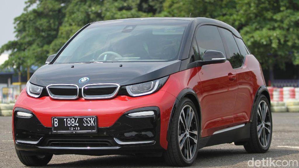 BMW i3s, Pencurian Pelek Mobil sampai Pelat Nomor Khusus KBL