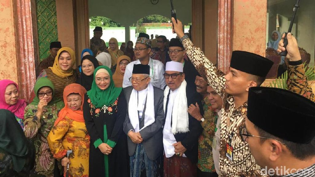 100 Hari Kerja Jokowi-Maruf, Wapres Unggulkan Stabilitas Politik
