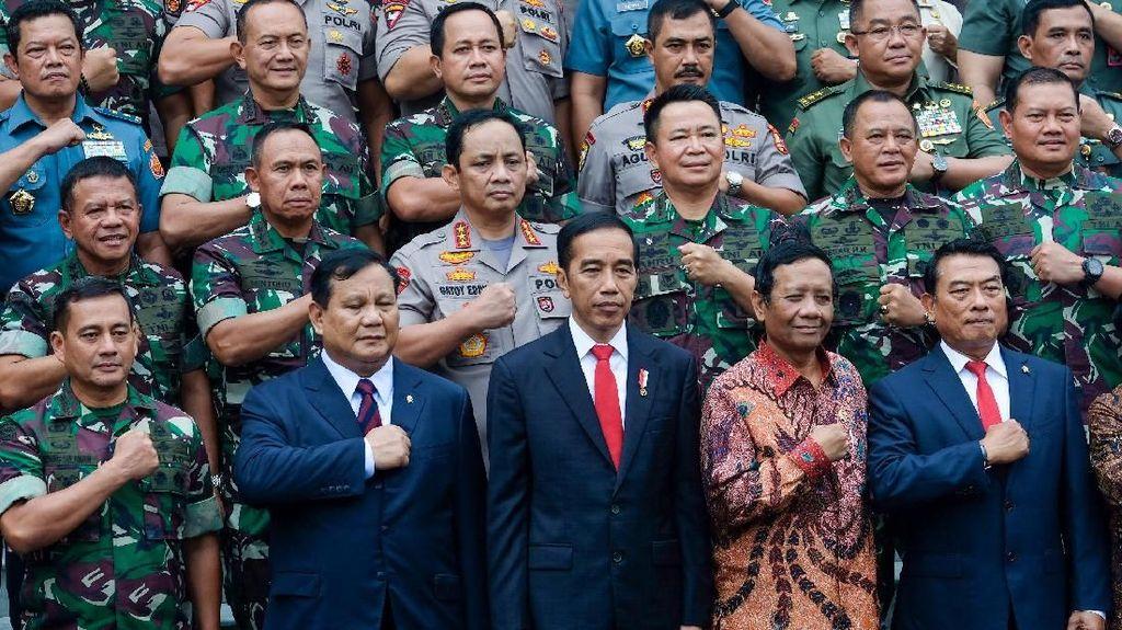 Di Hadapan Prabowo, Jokowi: Kedaulatan Tak Bisa Dinegosiasikan!