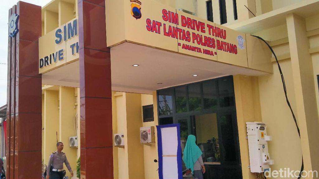 Hai Dulur di Batang, Yuk Jajal SIM Drive Thru Pertama di Jateng Ini