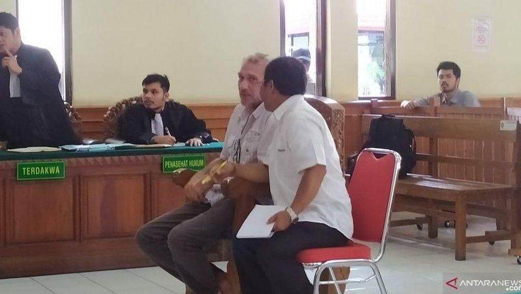 WN Prancis Ini Diadili di Bali karena Miliki Satu Paket Kokain