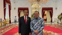 La Nyalla Bertemu Jokowi, Bicara Aspirasi Daerah