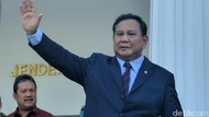Menhan Prabowo Tes Corona di RSPAD Gatot Soebroto