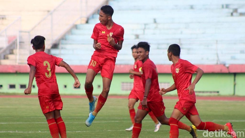 Jadwal Pertandingan Timnas Indonesia U-16 di Piala Asia U-16 2020
