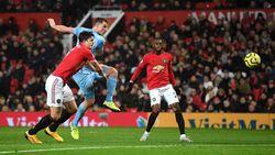 Man United Tertinggal dari Burnley 0-1 di Babak Pertama