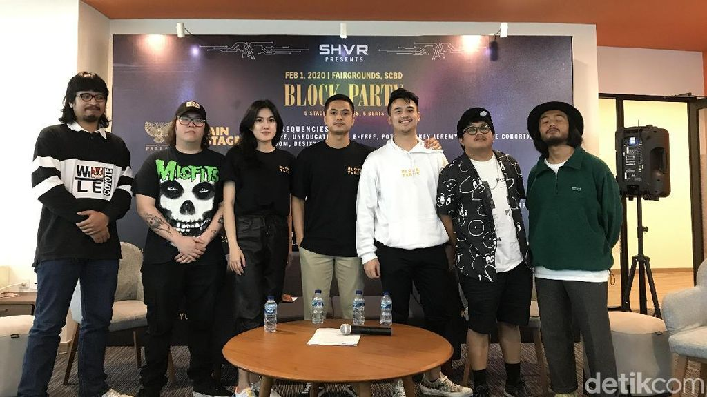 5 Genre Berbeda dalam Jakarta Block Party 2020