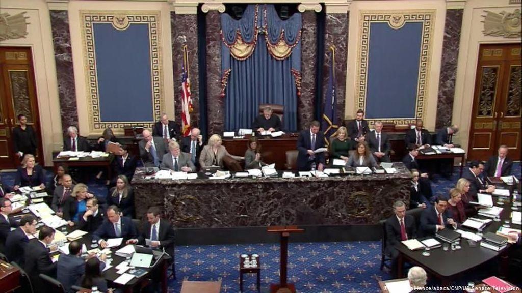 Debat Kubu Demokrat dan Republik di Sidang Pemakzulan Trump