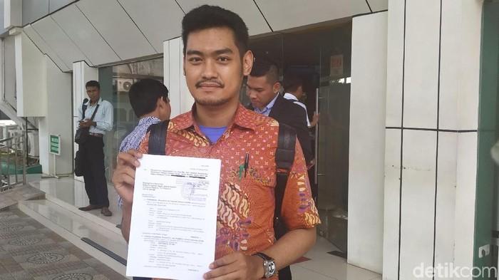 kuasa hukum MAKI, Rizky Dwi Cahyo Putra