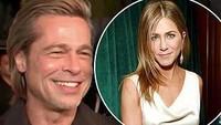 Eaaa... Brad Pitt Kok Malu-malu Ditanya soal Jennifer Aniston?