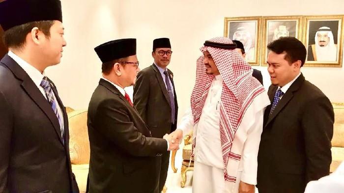 Pertemuan DPR dan menteri haji arab saudi