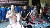 Terlibat Penganiayaan, 7 Pesilat Ditangkap Polisi