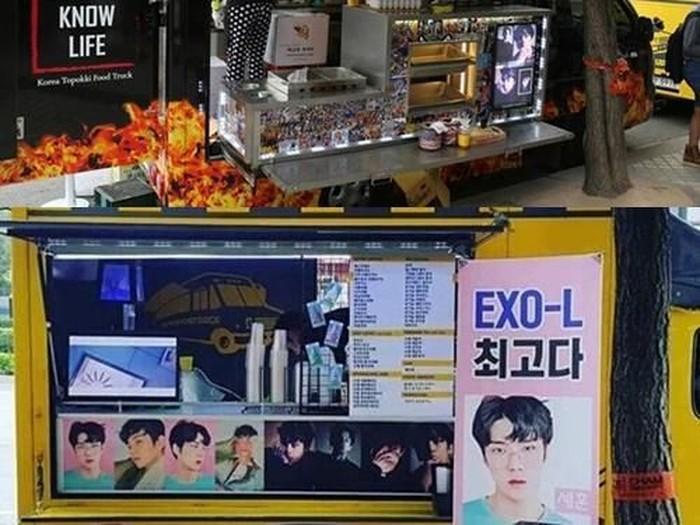 Wow 5 Idol Kpop Ini Punya Food Truck Gratis Untuk Penggemar