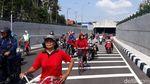 Penampakan Underpass Terpanjang RI yang Resmi Dibuka