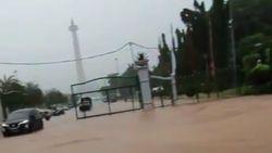 Sekda DKI Omeli Dishub Pengunggah Video Banjir Pintu Monas Depan Istana