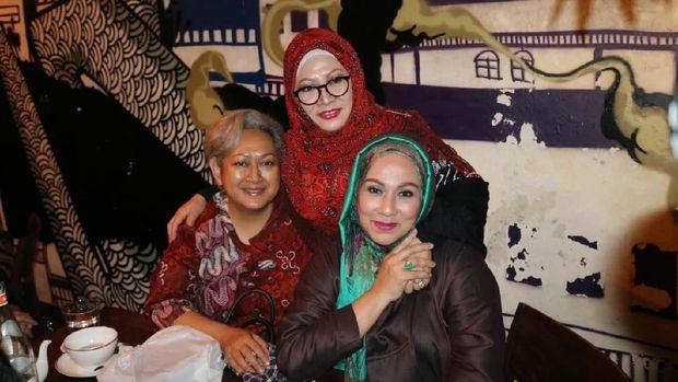 Piyu 'Padi' hingga Camelia Malik Hadiri Ultah Tutut Soeharto