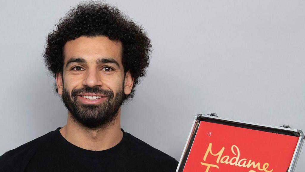 Mohamed Salah Bakal Diabadikan di Museum Madame Tussauds
