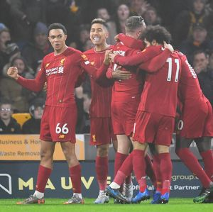 Wolves Vs Liverpool: Seru, The Reds Menang 2-1 di Molineux