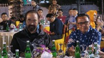Dinner di Rujab Gubernur Sulsel, Paloh Minta Kader NasDem Dukung Nurdin