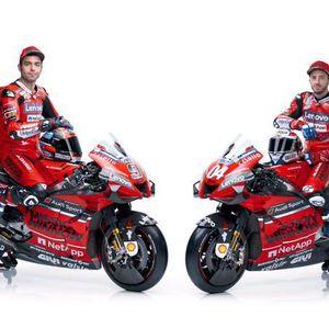 Tampilan Desmosedici 2020, Tunggangan Baru Ducati di MotoGP 2020