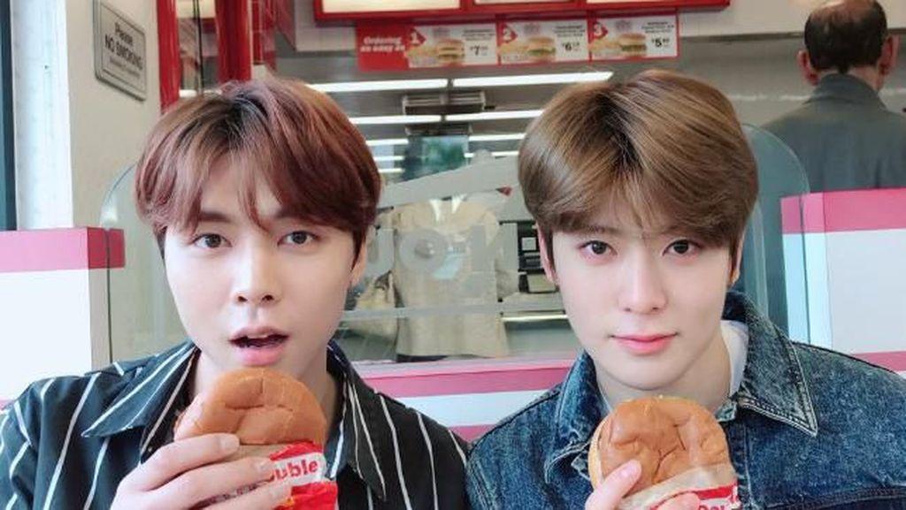 Tampannya Jaehyun NCT Saat Makan Pancake hingga Es krim
