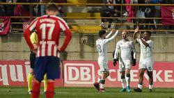 Hasil Copa del Rey: Atletico Madrid Disingkirkan Tim Divisi Tiga