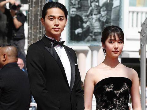 Masahiro Higashide dan Erika Karata di Cannes Film Festival 2018.