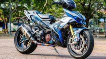 Yamaha MX King Disuntik Kaki-kaki Ninja H2