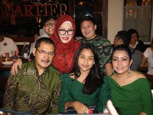 Mayangsari dan Bambang Trihadmodjo Serasi di Ultah Tutut Soeharto