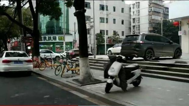 Kondisi sepinya Kota Wuhan di China yang diisolasi akibat virus corona.