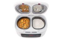 Canggih! Penanak Nasi Ini Bisa Masak 4 Masakan Sekaligus