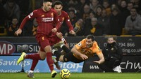 Babak I Wolves Vs Liverpool: The Reds Unggul 1-0, Sadio Mane Cedera