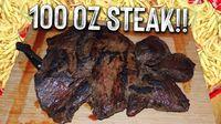 Wow! Pria Ini Habiskan Steak Seberat 2,8 Kilogram