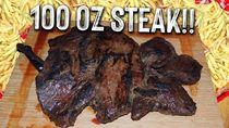 Wow! Pria Ini Habiskan Beefsteak Seberat 2,8 Kilogram