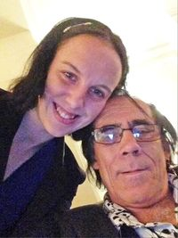 Lizzie dan suaminya, Leslie, yang beda usia 41 tahun