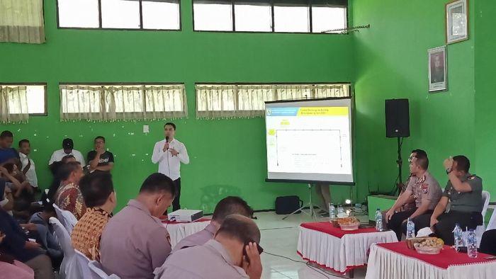 Sosialisasi groundbreaking proyek Bandara Kediri