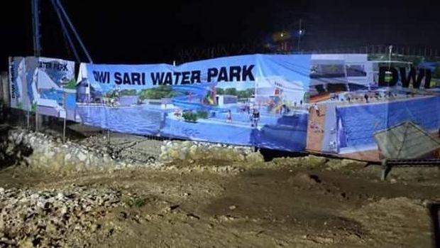 Duh, Sungai Cibeet Bekasi Dipersempit untuk Pembangunan Waterpark