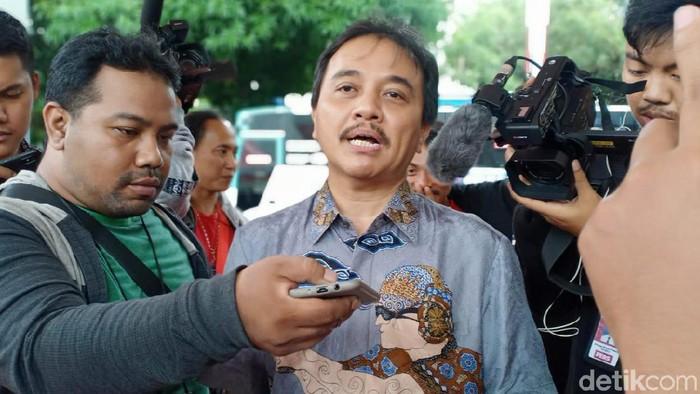 Disebut Tak Paham Sejarah, Roy Suryo Polisikan Petinggi Sunda Empire (Samsudhuha W/detikcom)