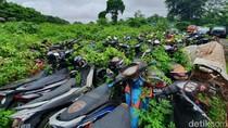 Ratusan Kendaraan Sitaan Polisi Numpuk di Bekasi, Ada yang Sudah 10 Tahun