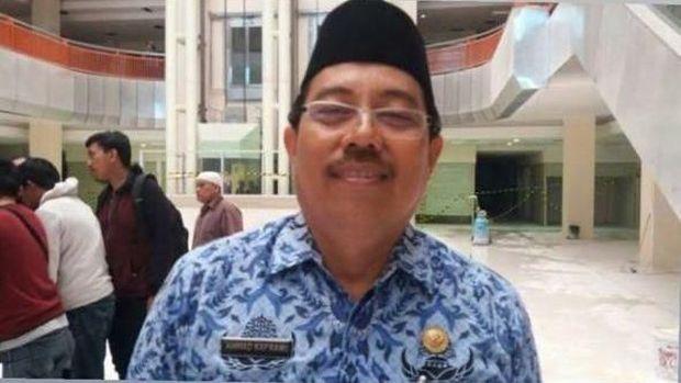 Kepala Dinas Tata Ruang Kota Makassar Ahmad Kafrawi.