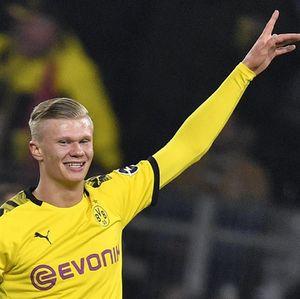 Haaland Menggila di Liga Jerman: 57 Menit, 5 Gol