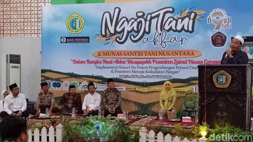 Rektor Universitas Brawijaya Ajak Santri Ambil Peran di Sektor Pertanian