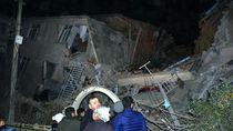 Penampakan Gedung Roboh Gegara Gempa di Turki