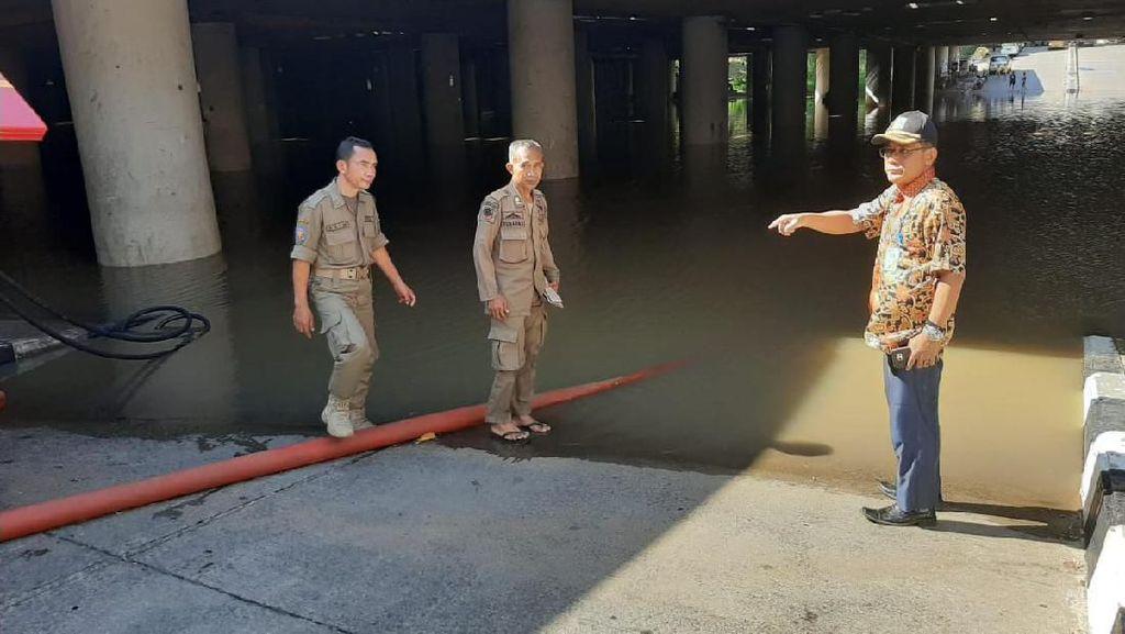 Potret Underpass Kemayoran Sebelum Tergenang Banjir 5 Meter