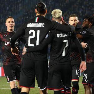 Brescia Vs AC Milan: Rossoneri Lanjutkan Laju Sip Usai Menang 1-0